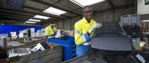 Milieuwerk samenwerking WEEE Nederland